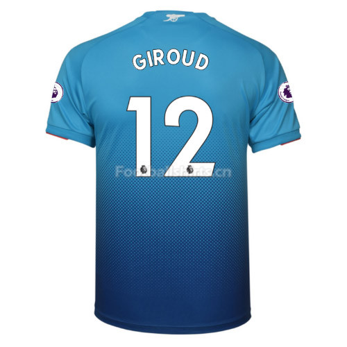 Arsenal Away GIROUD #12 Soccer Jersey 2017/18